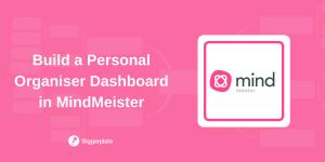 MindMeister Webinar Personal Organization